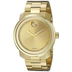 Movado Women's 'Bold' Gold-tone Stainless Steel Watch 3600258