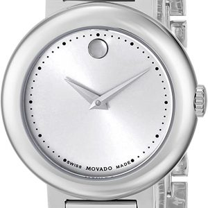 Brand New Movado  Concerto Stainless Steel Bracelet Ladies Watch 0606702