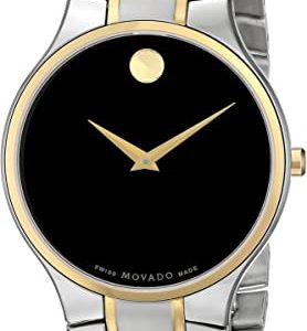 "Brand New Movado Men's ""Serio"" Stainless Steel Watch 0606388"
