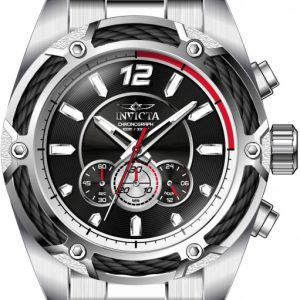 Brand New Invicta Men's Bolt Quartz Watch with Stainless Steel Strap, Silver, Model: 31464