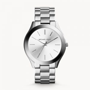 Michael Kors SilverTone Runway Slim Watch MK3178