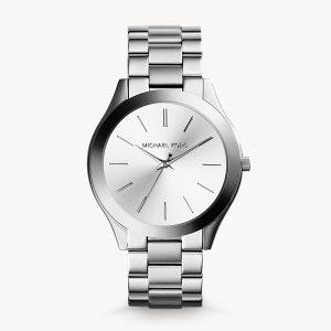 Michael Kors SilverTone Runway Slim Watch MK3178