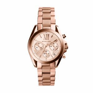 Michael Kors Bradshaw Rose Gold Tone Ladies Watch MK5799