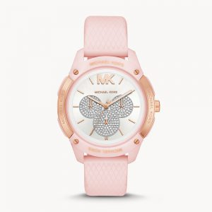 Michael Kors Ryder Multifunction Matte Pink Silicone Watch MK6702