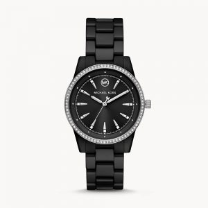 Michael Kors Ritz Crystal Black Watch MK6836
