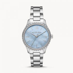 Michael Kors Layton Three-Hand Stainless Steel Watch MK6847