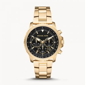 Michael Kors Cortlandt Chronograph Gold tone Stainless Steel Watch MK8642