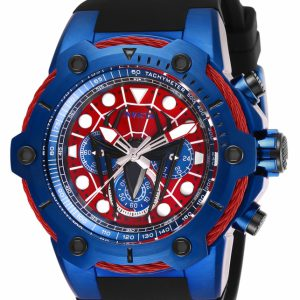 Invicta Marvel Spiderman Men's 51mm Limited Edition Blue Chronograph Watch 26914