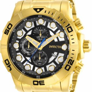 Brand New Invicta Men's Sea Hunter Quartz Chronograph Black, Silver Dial Watch 28264