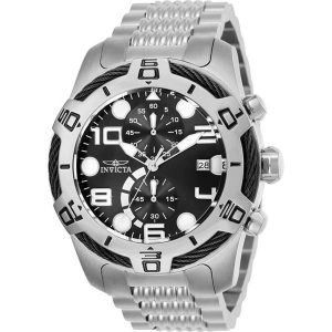 Brand New Invicta BOLT Men's Stainless Steel Chrono Watch 25547