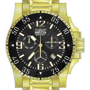 Brand New Invicta Excursion Men's Round Analog Chronograph Date Guilloche Watch 23903