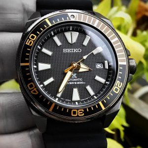 Seiko Samurai Prospex Men's Black Watch – SRPB55