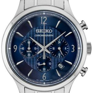 Seiko Conceptual Chronograph Blue Dial Men's Watch SSB339