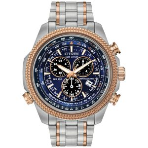 Citizen Men's Brycen Alarm Chronograph Perpetual Calendar Watch BL5406-56L