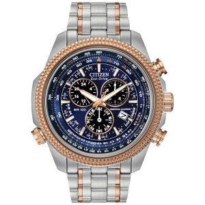 Citizen Men's Brycen Alarm Chronograph Perpetual Calendar Watch BL5406-56L