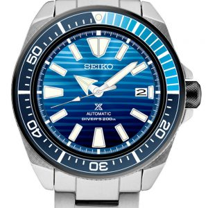 Seiko Mens Prospex Samurai Diver Save The Oceans Special Automatic Watch SRPC93