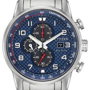 Citizen Primo Eco-Drive Blue Dial Men's Watch CA0680-57L