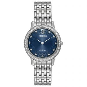 Citizen Ladies Silhouette Crystal Eco-Drive Watch EX1480-58L