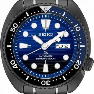 Seiko Men's Prospex Special Edition Blue St. Steel Automatic Divers Watch SRPD11