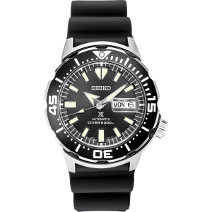 Seiko Prospex Monster Black Dial Automatic Diver Watch SRPD27