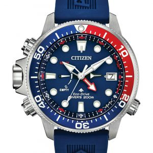 Citizen Eco-Drive Promaster Aqualand Blue Dial Men's Diver Watch BN2038-01L