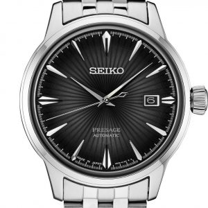 New Seiko Presage Automatic Sunray Dial Stainless Steel Mens Watch SRPE17