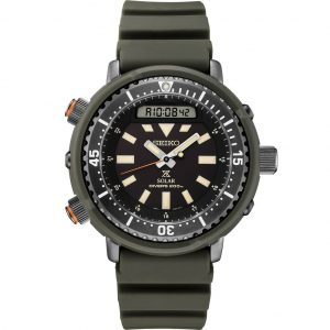 "New Seiko Prospex Solar Hybrid ""Arnie"" Divers 200M Men's Watch SNJ031"