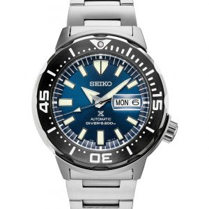 Seiko Prospex Monster Stainless Steel Blue Dial SRPD25