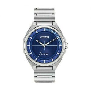Citizen Eco-Drive Men's DRIVE Blue Dial Stainless Steel Watch BJ6530-54L
