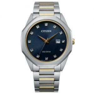 Citizen Corso Eco-Drive Stainless Steel Blue Dial Men's Watch BM7494-51L