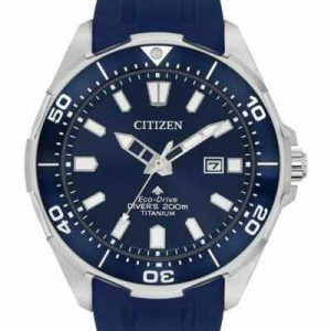 Citizen Eco-Drive Promaster Dive Polyurethane Strap Men's Watch BN0201-02M