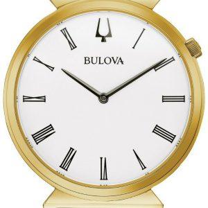 Bulova Regatta Gold-Tone Finish 38mm Men's Watch 97A153