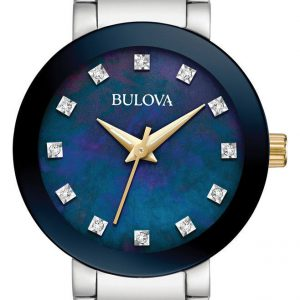 Bulova 98P157 Modern 26MM Women's Two-Tone Stainless Steel Watch