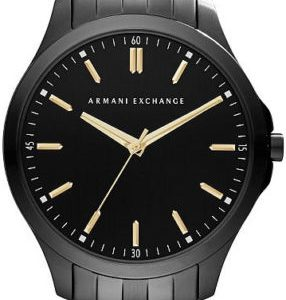 Armani Exchange Black Dial Stainless Steel Men's Watch AX2144
