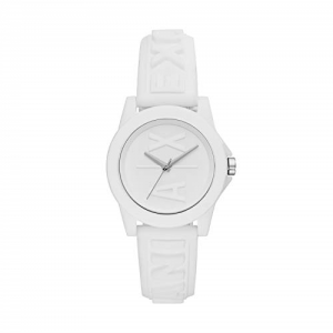 Armani Exchange Women's Analog Quartz Watch with Silicone Strap AX4366