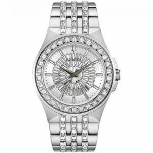 New Bulova Phantom Silver Dial Stainless Steel Men's Watch 96A236