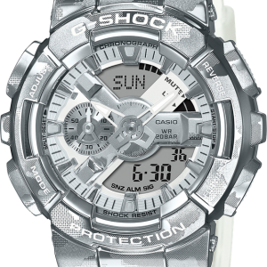 Brand New G Shock Transparent Band Camouflage pattern Watch  GM110SCM-1A