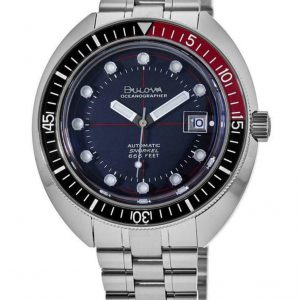 Brand New Bulova Oceanographer Limited Edition Automatic Men's Watch 98B320